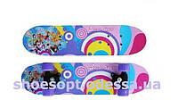 Скейтборд скейт детский мини Винкс