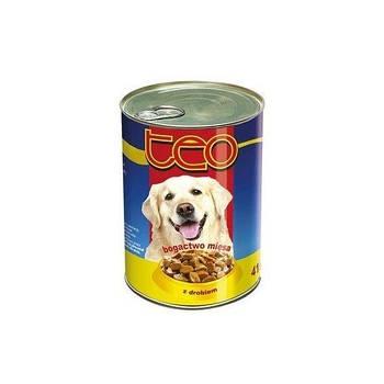 Консерва TEO для собак с курицей, 1250 г