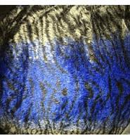 """Чехлы универсальные синие """"Тигр"""" (искусственный мех) полный комплект"""
