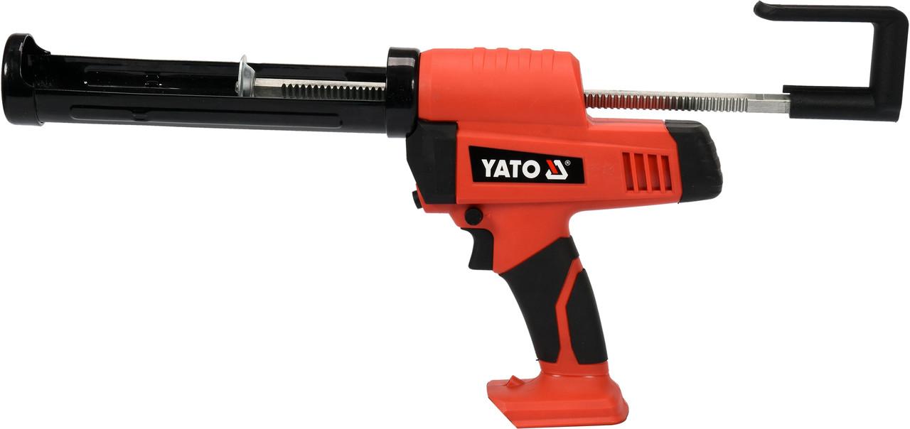 Пистолет для клея и герметика аккумуляторный YATO YT-82889