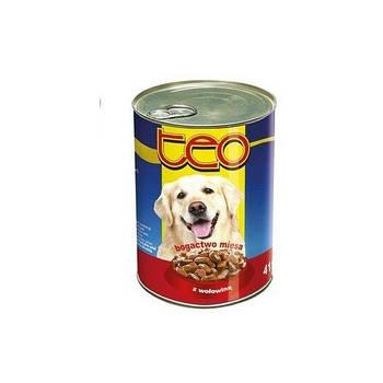 Консерва ТЕО для собак с говядиной, 1250г