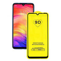 Стекло защитное  Redmi Note 7/7 Pro/7S Full Glue 9D Black