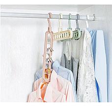 Вешалка-органайзер для одежды Wonder Hanger Magic Hanger Clothes ( Чудо-вешалка ) 2 шт в наборе, фото 3