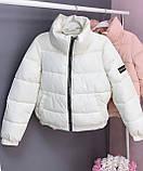 Куртка женская короткая 6 расцветок, 42, 44, 46, фото 2