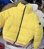 Куртка женская короткая 6 расцветок, 42, 44, 46, фото 5
