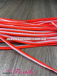 Кант светоотражающий 1 см., 100 ярд (красный)