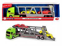 Автотранспортер Dickie Toys с двумя машинками Порше (3747005)