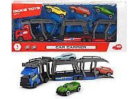 Игровой набор Dickie Toys Автотранспортер с 3 машинками (3745008)