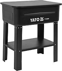 Стационарная электрическая мойка 80 л YATO YT-55808, фото 3
