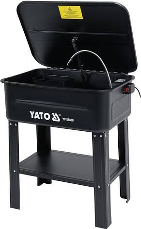 Стационарная электрическая мойка 80 л YATO YT-55808, фото 2