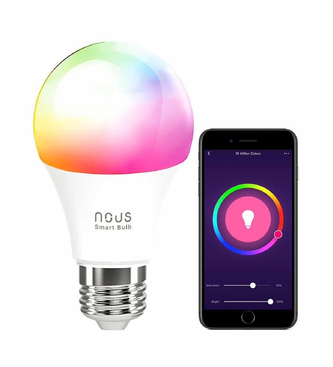 Умная лампочка NOUS Smart Wifi Bulb P3