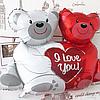 Шар воздушный, шарик, влюбленные медведи!, фото 4