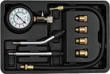 Компрессометр для бензиновых двигателей 0-2 МПа YATO YT-73022