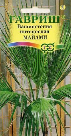 Семена Вашингтония Майами нитеносная, фото 2