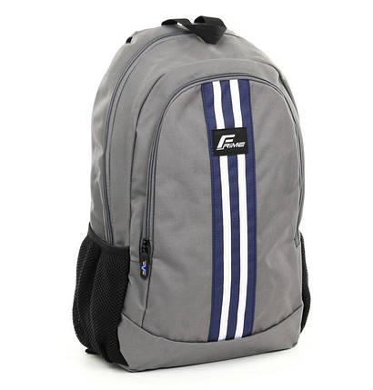 Рюкзак для ноутбука 15.6 Frime ADI Grey, фото 2
