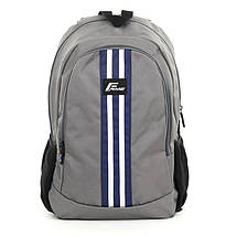 Рюкзак для ноутбука 15.6 Frime ADI Grey, фото 3