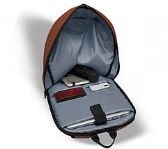 Рюкзак для ноутбука 15.6 Frime Keeper Dark red, фото 3