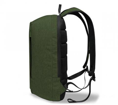 Рюкзак для ноутбука 15.6 Frime Keeper Green, фото 2
