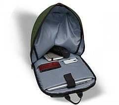 Рюкзак для ноутбука 15.6 Frime Keeper Green, фото 3