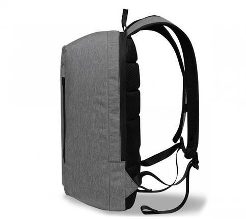 Рюкзак для ноутбука 15.6 Frime Keeper Grey, фото 2