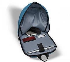 Рюкзак для ноутбука 15.6 Frime Keeper Light blue, фото 3