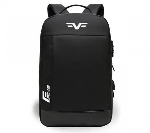 Рюкзак для ноутбука 15.6 Frime Trip Black, фото 2