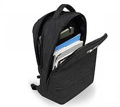 Рюкзак для ноутбука 15.6 Frime Whitenoise Black, фото 3