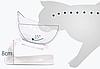 Миска для кота,собаки, тарелка для кота и собаки, набор из 2 шт., фото 4