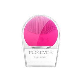 Электрическая щетка для лица FOREVER Lina Mini 2 Original size Cleanser Brush Розовый (R0071)