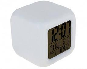 Часы хамелеон светящиеся CX 508 Белый (R0115)