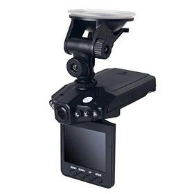 Автомобильный регистратор DVR H198 с поворотным экраном на присоске 1920x1080 CMOS WXGA HD (R0122)