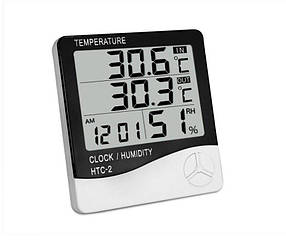 Гигрометр метеостанция HTC-2 Белый (R0147)