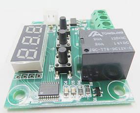 Терморегулятор W1209 Термостат + Датчик + Корпус (R0152)