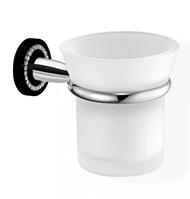 Стакан для зубных щеток ALOE Black SANCO