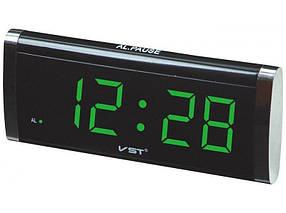Электронные часы с памятью VST 730 Черный (R0185)