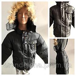 Куртка  зимняя для мальчика (рост 116)