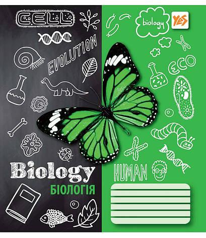 А5/48 кл. YES ПРЕДМЕТКА - БІОЛОГІЯ (Sketch science) зошит учнів.                          , фото 2