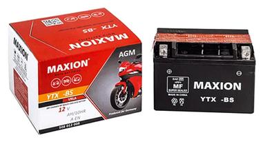 Мото аккумулятор Maxion YTX4L-BS AGM 6мтс 3