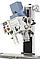 BF 30 Super сверлильно фрезерный станок по металлу ВАРИО с приводом и 3-х осевым УЦИ Bernardo, фото 3