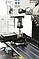 BF 30 Super сверлильно фрезерный станок по металлу ВАРИО с приводом и 3-х осевым УЦИ Bernardo, фото 5