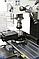 BF 30 Super сверлильно фрезерный станок по металлу ВАРИО с приводом и 3-х осевым УЦИ Bernardo, фото 8