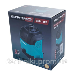 Заточка для свердел Grand МЗС-420 (3-12 мм, Чехія), фото 2