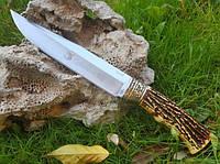 Охотничий нож Columbia SA60, с чехлом, рукоять полимер под кость, нескладные ножи, ножи для охоты