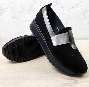 Женские туфли на низкой платформе 36-40 р