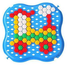 Мозаика набор Wader Tigres 65 шт Разноцветный (TOY-17483)