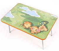 Детский стол из МДФ со складными металлическими ножками