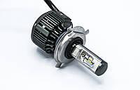 T6-H4 Hi-Low LED лампы головного света/8-48v/55w/5500Lm/6000K/1шт, фото 1