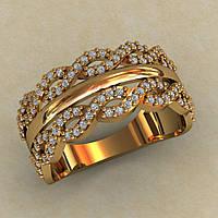 Женское кольцо 5 грамм