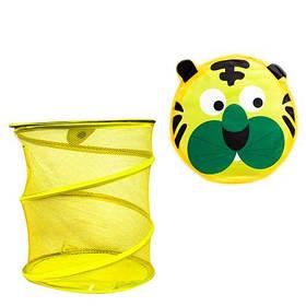 Корзина для игрушек Toysi Тигр Желтый (TOY-102084)