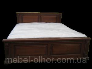 Кровать деревянная Версаль-2 160*200 в белом цвете